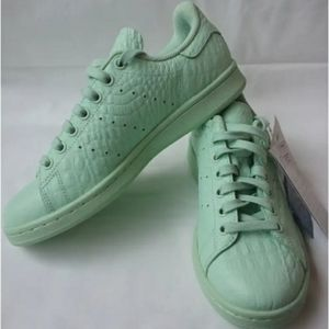 Adidas STAN SMITH LEATHER TRAINERS size 9